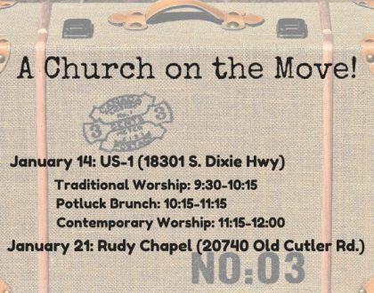 A Church on the Move!