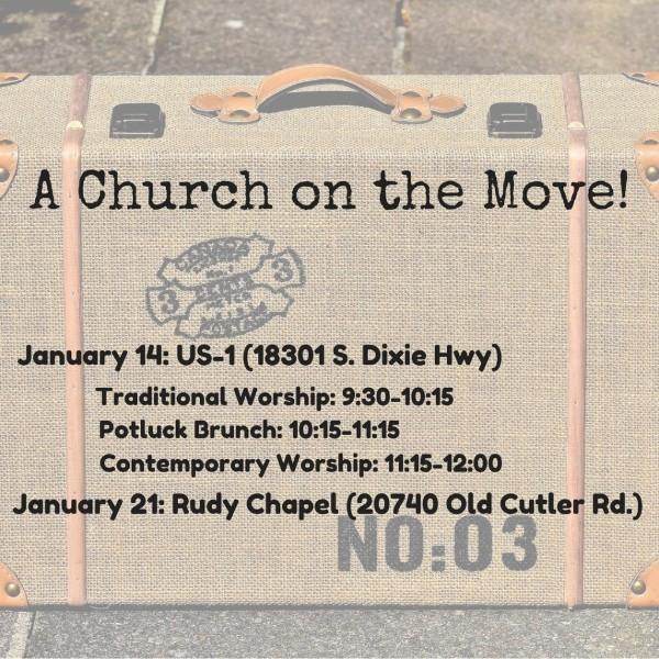 A Church on the Move!